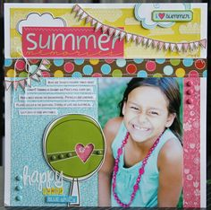 Project - Summer Memories *BELLA BLVD*  by Laura Vegas