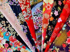 Lot de 11 coupons tissus japonais embossés, coupons de tissu de 24x26cm, tissu patchwork