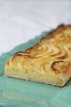 tarte aux pommes avec crème patissiere Christophe Fleder LE MIAM MIAM BLOG 03