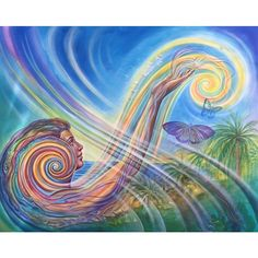 Amanda Sage painting from Envision Festival 2015 / Sacred Geometry <3