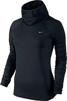 outlet store f348a 86261 Nike Women s Pro Warm Zip L S Shirt  Nike Pro Warm Zip Women s Top is made  with sweat-wicking fabric that s brushed for warmth.