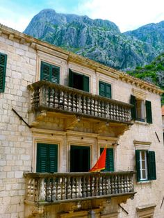 Kotor, Montenegro Adriatic Sea, Southern Europe, Bosnia And Herzegovina, Balconies, Macedonia, Albania, Slovenia, Continents, Croatia