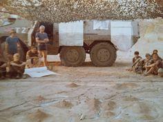 Op Meebos - Aug 1982 - Angola. Orders op sandmodel vir aanval op Techamutete Once Were Warriors, War Image, Defence Force, Apartheid, Photo Essay, Military History, Armed Forces, South Africa, African