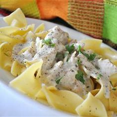 Slow Cooker Chicken Stroganoff Allrecipes.com