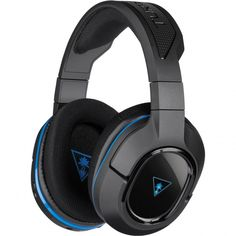 Turtle Beach Ear Force Stealth 400, Wireless Gaming Headset, Unidirectional Microphone, Black