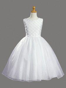 Hermosos vestidos de primera comunion de organza (6)