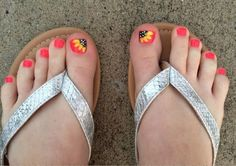 18+ Summer Toe Nail Artwork Designs, Concepts, Trends & Stickers 2015   Nail Design
