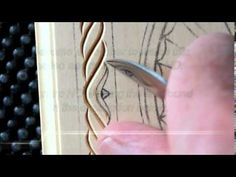 My Chip Carving: Double Tea Light Grid Pattern - YouTube