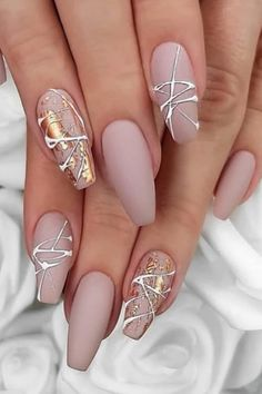 Stilletto Nail Designs Round/Triangle/Square/Sea Animal Nails, Bags, Shoes, Cell Phone, Box Nail A Stylish Nails, Trendy Nails, Cute Nails, My Nails, Crazy Nails, Nagellack Design, Nagellack Trends, Perfect Nails, Gorgeous Nails