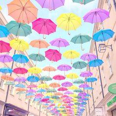 Southgate Bath, Rainbow Umbrellas, Love Catherine  lovecatherine.co.uk Instagram catherine.mw xo