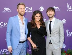 Lady Antebellum arrives at the 47th Annual Academy Of Country Music Awards held at the MGM Grand Garden Arena on April 1, 2012 in Las Vegas, Nevada. Photo by Jason Merritt/Getty Images/Courtesy of the Academy of Country Music.