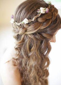 13 peinados de novia con trenzas - Bodas con detalle - Blog especializado en bodas | por Rebeca Ruiz