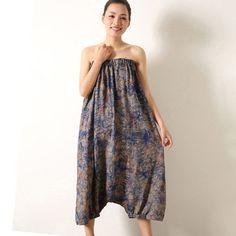 Clearance-- Female Summer And Autumn Plus Plus Size 100Kg Fluid Bib Pants One Piece Harem Pants Dress Loose Maternity Pants