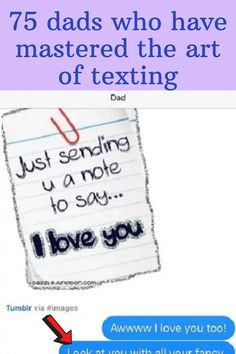 We love our dads but it seems as though they think it's their right and responsibility to be humorous…at all times. But that often leads to some pretty hilarious things. No matter how hard to try to ignore or humiliate them, they just don't stop. Now that texting is all the rage, they're using it to their advantage to what they consider even funnier. A word to the wise — if you're going to have a conversation with your dad vis text, you'd better be prepared for just about anything. Fake Nails French, Haha Funny, Hilarious, Lovely Girl Image, Summer Outfits Men, Love Dad, Eye Makeup Art, Parenting Humor, Creative Nails