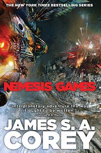 Nemesis Games by James S.A. Corey | The 24 Best Science Fiction Books Of 2015