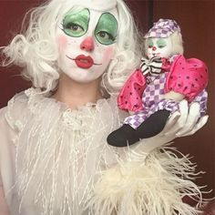 dont talk to me or my son ever again, vol 2 ig: tooftheclown Mark Ryden, Audrey Kawasaki, Makeup Inspo, Makeup Art, Trevor Brown, Character Inspiration, Character Design, Female Clown, Dark Circus