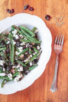 Green Beans with Feta Recipe Cranberry & Feta Green Beans