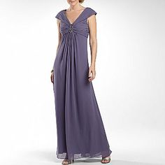 34a70aca69b Lilianna Long Beaded Medallion Gown with Pleats - jcpenney. Not in total  love with this