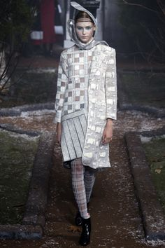 cd9013502b9 Thom Browne Fall 2016 Ready-to-Wear Collection Photos - Vogue  Deconstruction Fashion