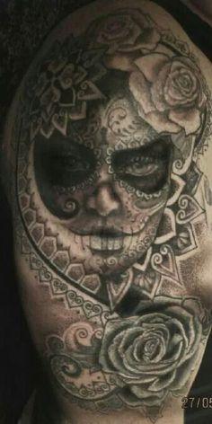 #Sugarskull Tattoo
