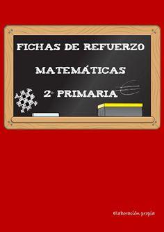 FICHAS REFUERZO MATEMÁTICAS 2º PRIMARIA - carmenan PRIMARIA - Àlbums web de… Math 2, Letter Board, Album, Teaching, Signs, Homeschooling, Alphabet, School, Math Classroom