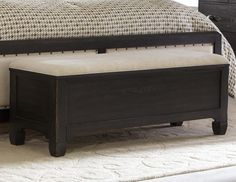 cool End Of Bed Storage Bench