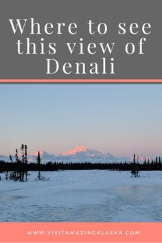Where did I take this picture of Denali Would you like to boondock here I'll show you where to go! In a recent boondocking and ATV trip, I was blessed to photograph Denali (formerly called Mt McKinley) at sunset. She's beautiful in every season! Alaska Salmon, Alaska Cruise, Camping, Backpacking, Where To Go, Atv, Blessed, Places To Visit, Photograph