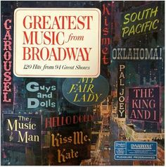 "Various Artists / All-Time Broadway Hit Parade | Reader's Digest RDA-35A | Album (12"" Record) 