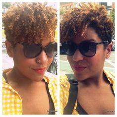 Possible haircut? Short Sassy Hair, Short Hair Cuts, Tapered Natural Hair, Tapered Twa, Curly Hair Styles, Natural Hair Styles, Cut Her Hair, Coily Hair, Natural Hair Inspiration