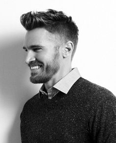 Low Fade Quiff Haircut For Men Short Length