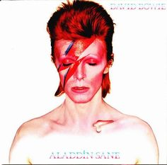 All time Covers by David Bowie - Aladdin Sane (1973)