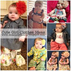 Looking for cute baby girl clothes??? Check out this post for some great ideas and tips!