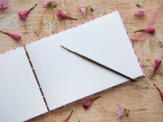 Hand Bound Wedding Guest Book Coptic Stitch by TheEloiseBindery