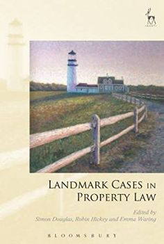 Landmark Cases in Property Law explores the development of basic principles of property law in leading cases. Each chapter considers a case on land, personal property or intangibles, discussing what that case contributes to the dominant themes of property jurisprudence – How are property rights acquired? What is the content of property rights? What are the limits or boundaries of property?