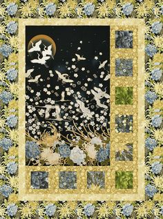 Sidelights Quilt Pattern for Panels Large Scale Fabric DIY Quilting Mountianpeek Creations