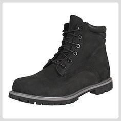 Timberland Damen Schuh Waterville 6 Boot schwarz, Größe:41 - Stiefel für  frauen (