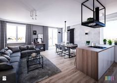 salon loft - zdjęcie od KOLORUM
