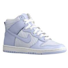 Nike Dunk High Skinny - Women's - Basketball - Shoes - Palest Purple/White/Palest Purple