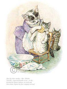 'Tom Kitten' by Beatrix Potter