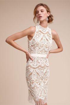 soft fringe   Bailey Dress from BHLDN