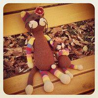 Zboží prodejce U Matušků / Zboží | Fler.cz Teddy Bear, Toys, Crochet, Animals, Crochet Hooks, Animales, Animaux, Crocheting, Animais