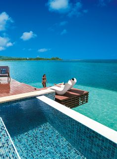 7757a7f6b4347a All-Inclusive Overwater Bungalows in the Caribbean