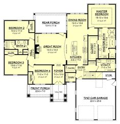 Oak Harbor House Plan