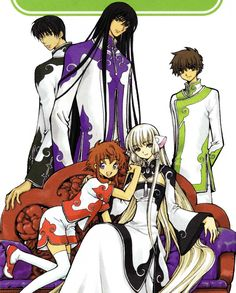 CLAMP crossover with Legal Drug, Tsubasa Reservoir Chronicles, Angelic Layer, Chobits and RG Veda
