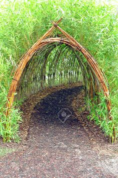 Home Garden Stunning Creative DIY Garden Archway Design Ideas 34