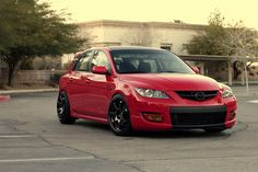 Mazda  MAZDASPEED3 custom wheels XXR 522  18x8.5, ET +30, tire size 215/45 R18. 18x9.5 ET+25