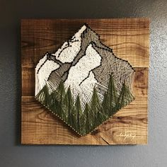 Customize a medium* sized string art! square inches up to 256 square inch… Customize a medium* sized string art! square inches up to 256 square inches* Creative Crafts, Fun Crafts, Arts And Crafts, Hobbies Creative, Creative Decor, Easter Crafts, Mason Jar Diy, Mason Jar Crafts, Diy Projects To Try
