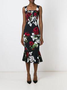 Dolce & Gabbana Vestido Estampado - Julian Fashion - Farfetch.com