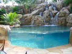 Transparent pool....love it