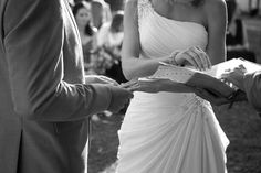 Rings sharing One Shoulder Wedding Dress, Wedding Dresses, Rings, Fashion, Bride Dresses, Moda, Bridal Gowns, Fashion Styles, Weeding Dresses